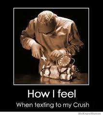 Memes For Texting - how i feel when texting my crush weknowmemes