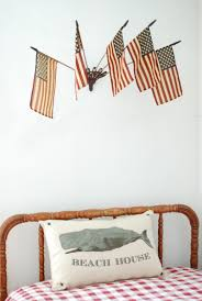 Flea Market Flags Wall Mount Flag Holder With Flags