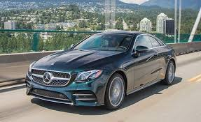 mercedes e400 coupe 2018 mercedes e400 coupe drive review car and driver