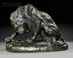 barye lion sculpture antoine louis barye 1796 1875 lion au serpent salon de