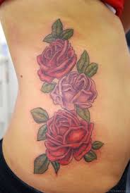 55 stunning rose tattoos on rib