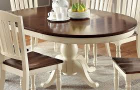 Oval Pedestal Dining Room Table Kenley Oval Single Pedestal Dining Table With 18 Butterfly Leaf