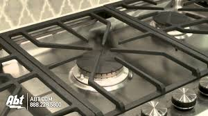 32 Inch Gas Cooktop Ge Monogram 36 Inch Stainless Steel Gas Cooktop Zgu385 Youtube