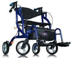 Transport Walker Chair Airgo Fusion Rollator 935 Transport Wheelchair Rollator