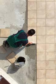 flooring how to install tile floor in kitchen backerd flooring