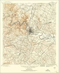 Ut Austin Campus Map by The National Map Historical Topographic Map Collection