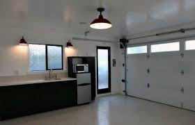 Garage Interior Ideas 50 Garage Lighting Ideas For Men Cool Ceiling Fixture Designs