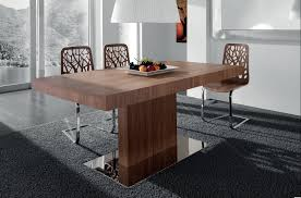 Interesting Tables Furniture Contemporary Unique Wooden Laminate Dining Chair With