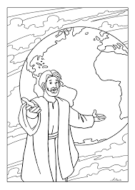 free coloring pages the great commission creating with kids
