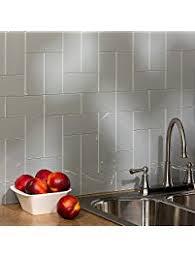 Aspect Peel And Stick Backsplash by Glass Tiles Amazon Com Kitchen U0026 Bath Fixtures Kitchen