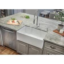 home depot kitchen sink vanity ipt sink company farmhouse apron front fireclay 33 in