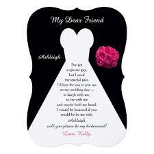 bridesmaids invitation cards the 25 best bridesmaid invitations ideas on