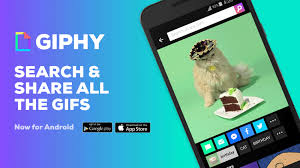 gif app for android giphy for android can now gifs to other apps the verge