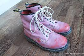dr martens womens boots canada boots outlet dr martens vintage pink blush leather doc