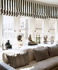 black and white striped l shade incredible black and white roman shades markovitzlab with regard to
