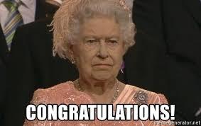 Congratulations Meme - congratulations queen elizabeth meme meme generator
