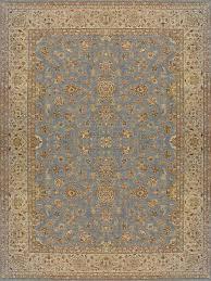 rugsville ziegler traditional blue wool rug 10375 rugsville co uk
