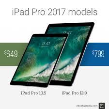 apple ipad pro 10 5 and 12 9 u2013 tech specs comparisons more