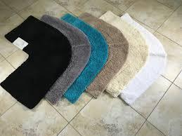 microfibre non slip corner shower mat