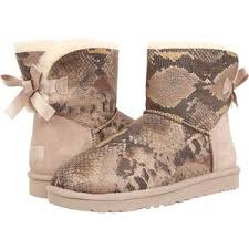 s ugg australia mini bailey bow boots ugg australia s mini bailey bow snake boot mount mercy