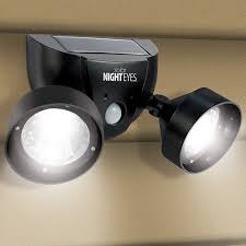 solar dual function motion activated outdoor spotlights w