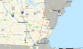 New Hampshire State Map by New Hampshire Route 125 Wikipedia