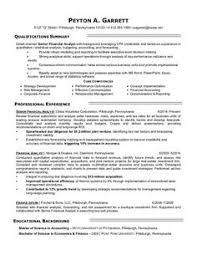 Financial Analyst Resume Example by Click Here To Download This Financial Analyst Resume Template