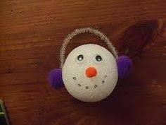 make a snowman that doesn t melt using a styrofoam and read