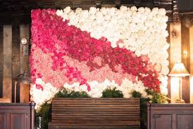 Wedding Backdrop Accessories The Hottest 2015 Wedding Trend 22 Flower Wall Backdrops