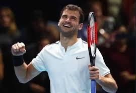 grigor dimitrov grigor dimitrov debuted with victory in the atp finals in london