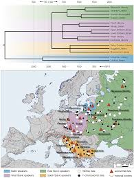 Genetic Map Of Europe by Genetic Heritage Of The Balto Slavic Speaking Populations A