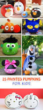 25 painted pumpkins for kids at non toy gifts halloween in the