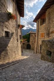 Where Is Italy On The Map by A View Of Part Of The Medieval Village Of Canale Di Tenno U2013 Which