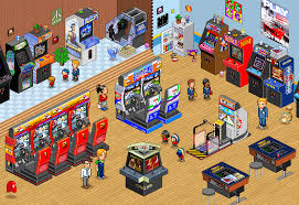 8 bit pixel game room retro gaming design pinterest pixel games