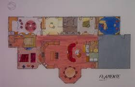 Hand Rendered Floor Plan Hand Renderings By Pamela Edwards At Coroflot Com