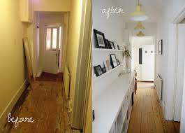 our before and after hallway makeover modern maggie before after hallway