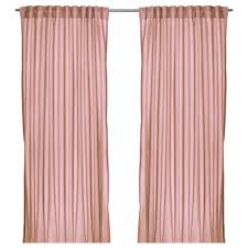 Light Pink Curtains by