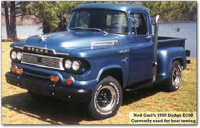 dodge trucks through the years 1958 dodge d100 dodge ram history page antique trucks