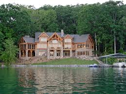 houseplans and more waterfront home plan rear photo 02 082s 0001 house plans and