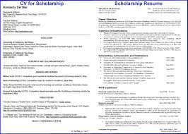 scholarship resume templates scholarship resume templates template exle vasgroup co
