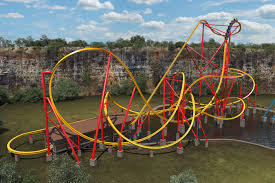 Six Flags Superman Ride Wonder Woman Roller Coaster Opening At Six Flags Ew Com