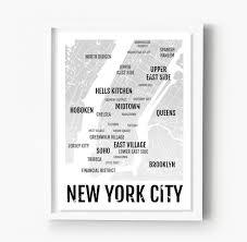 New York Neighborhood Map by New York City Neighborhoods Other U2013 Sproutjam