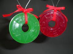 life saver orange candy christmas ornament vintage lifesaver