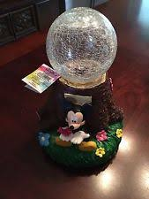 Crackle Globe Solar Lights by Woods International Disney Solar Garden Globe Stake Mickey Mouse