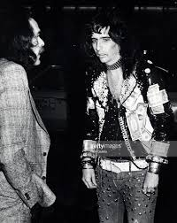 alice cooper during neil diamond broadway opening at winter garden picture id107012622