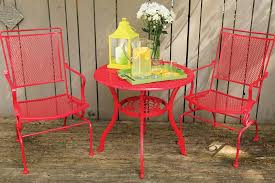 Iron Table And Chairs Patio Spray Paint For Metal How To Spray Paint Metal Furniture Krylon