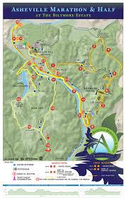 Map Of Boston Marathon Course by Half Course Description Asheville Marathon