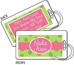 Business Card Luggage Tags Laminated 48 Best Luggage U0026 Diaper Bag Tags Images On Pinterest Diaper Bag