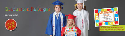 graduation packages caps and gowns for kindergarten preschool in graduation packages