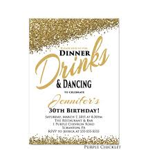 birthday dinner invitation cloveranddot com